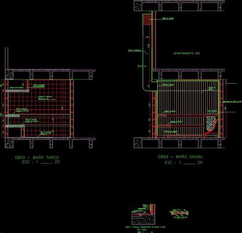 sauna details dwg detail for autocad designs cad