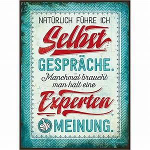 Blechschilder Sprüche Vintage : experten meinung schild schilder mit spr chen nur ~ Michelbontemps.com Haus und Dekorationen