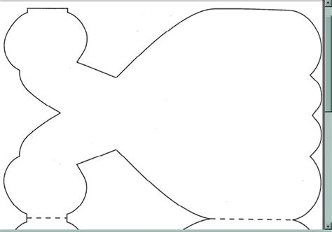 Princess Cut Out Template by Dress Cutout For Invitation Add Tulle Writing And