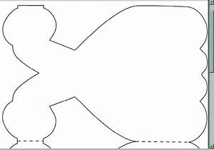 dress cutout for invitation add tulle over writing and With princess cut out template