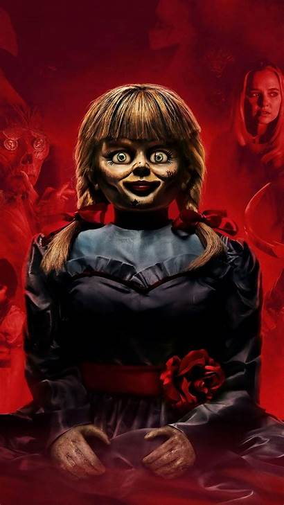 Annabelle Doll Wallpapers Comes Scary Horror Ultra