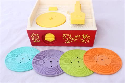 Music boxes have a long and interesting history. Vintage Fisher Price Music Box Record Player | Vintage ...