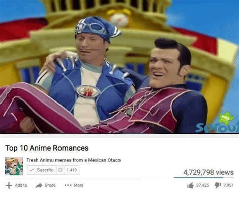 Top Ten Best Memes - 25 best memes about top 10 anime romance top 10 anime romance memes