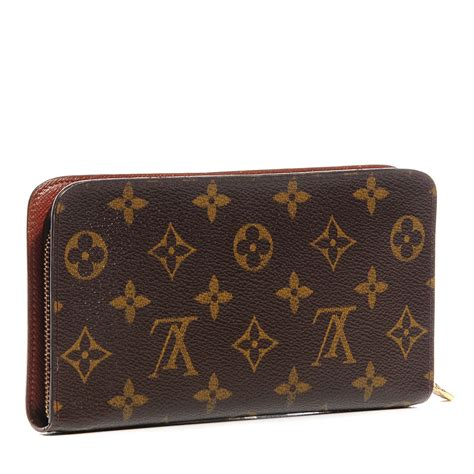 louis vuitton monogram porte monnaie zippy wallet