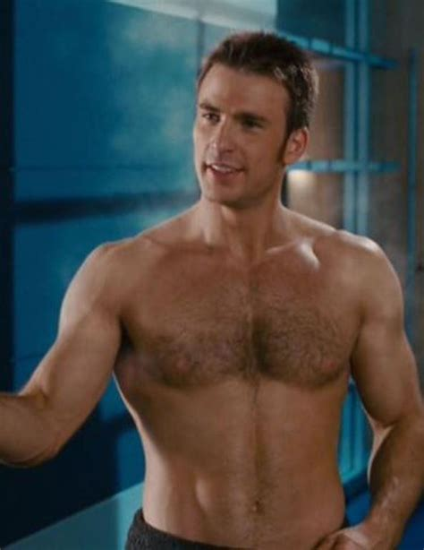 chris evans shirtless fantastic  silver surfer