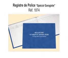 Registre De Police : registre de police conorga ~ Medecine-chirurgie-esthetiques.com Avis de Voitures