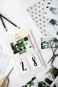 Kalender Selber Basteln Ideen : diy schreibtisch kalender mit instax fotos selbstgemacht ~ Lizthompson.info Haus und Dekorationen