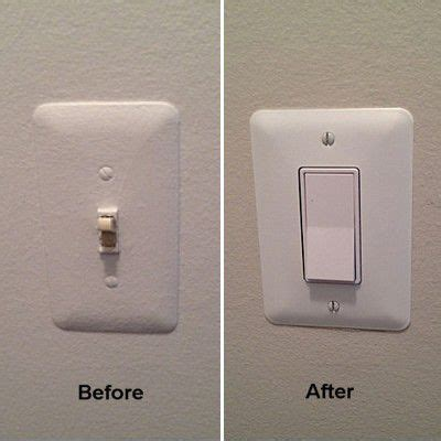 Replacing Toggle Light Switch With Rocker