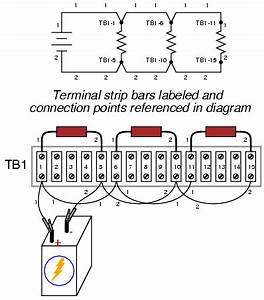building simple resistor circuits With building more complex circuits on a terminal strip involves the same