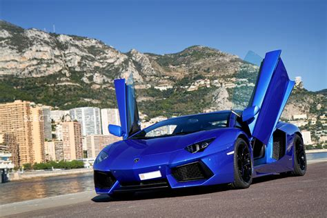 Blue Lamborghini Hd Wallpapers by Blue Lamborghini Wallpaper For Pc Hd Desktop Wallpaper