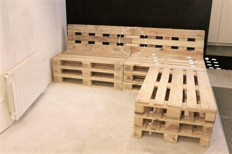canaper marocain mobilier fabriqué avec des palettes en bois meubles