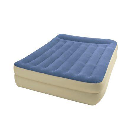 intex air mattress walmart intex pillow rest airbed air mattress bed with built