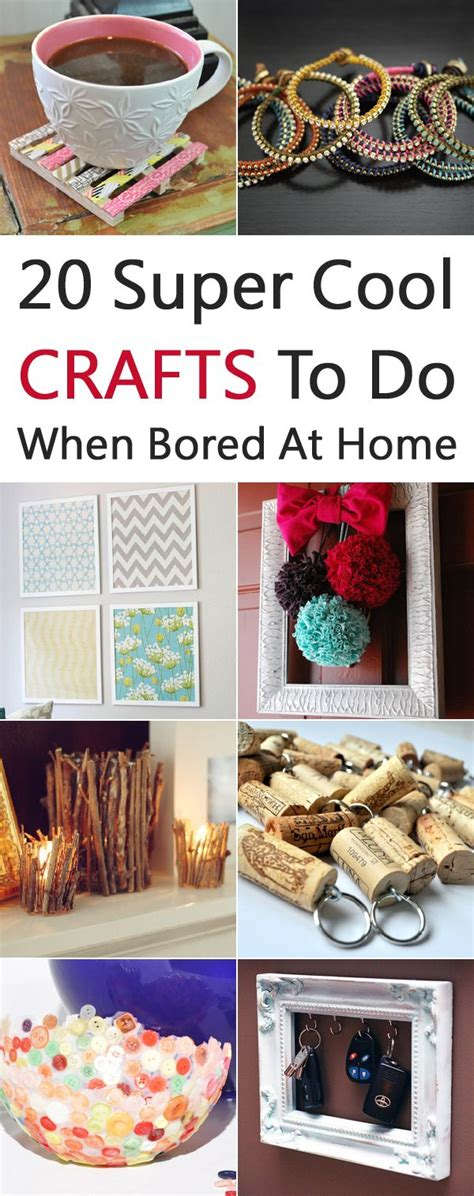 super cool crafts    bored  home diy