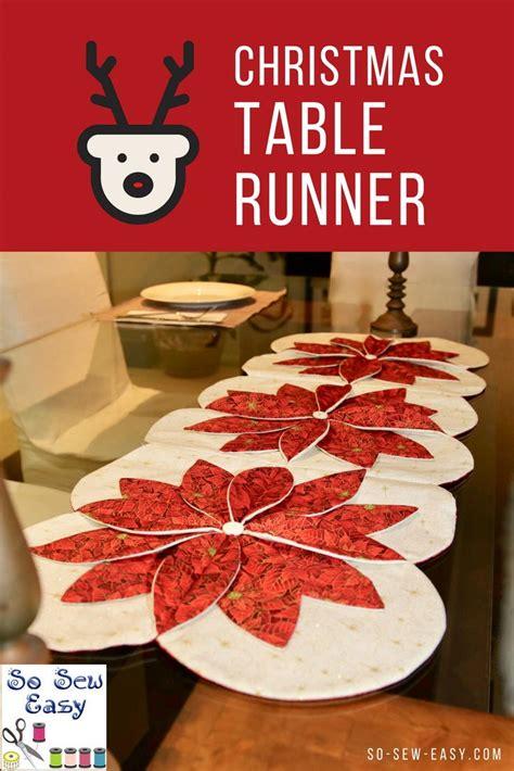 christmas table runner favecraftscom