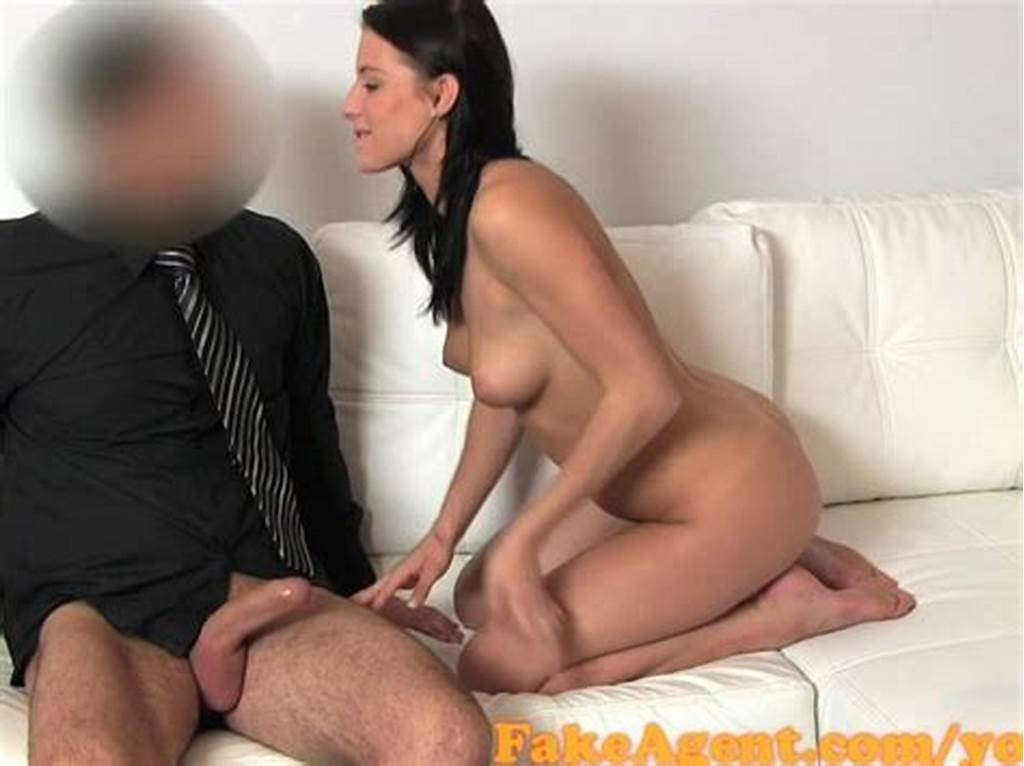 #Fakeagent #Beautiful #Brunette #Talked #Into #Sex #In #Casting