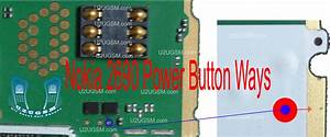 Nokia 2690 Power Button On Off Problem Ways Jumpers Solution