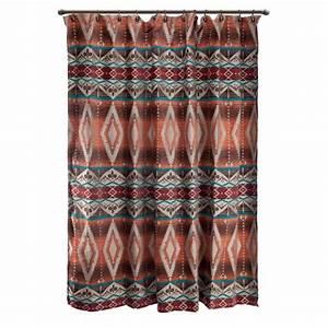 Western Shower Curtains: Sonoran Sky Shower Curtain Lone