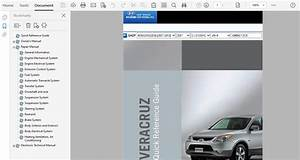 2007 Hyundai Veracruz Repair Manual