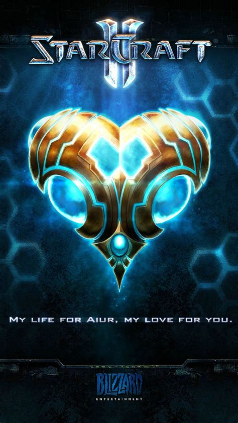 starcraft  protoss android wallpaper