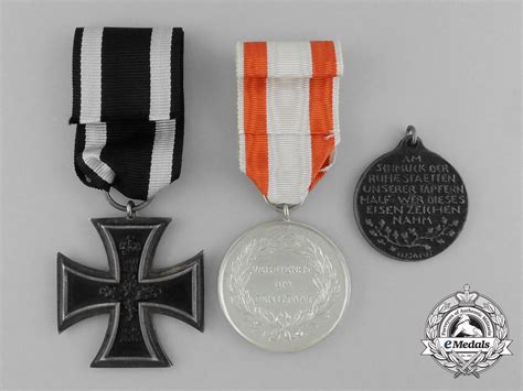 awards and decorations three war german medals awards and decorations