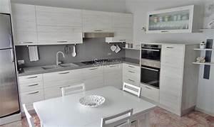 Awesome Cucina Rovere Sbiancato Photos - Idee Per Una Casa Moderna ...