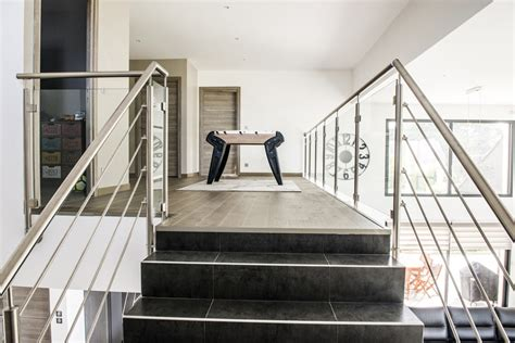 garde corps inox escalier et mezzanine divinox