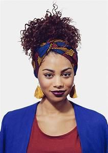 Tete A Coiffer Afro : demi turban wax natural hair don t care ~ Melissatoandfro.com Idées de Décoration