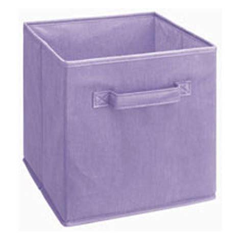 Baskets For Closetmaid Cubeicals - cube organizer storage basket bin fabric cubicle