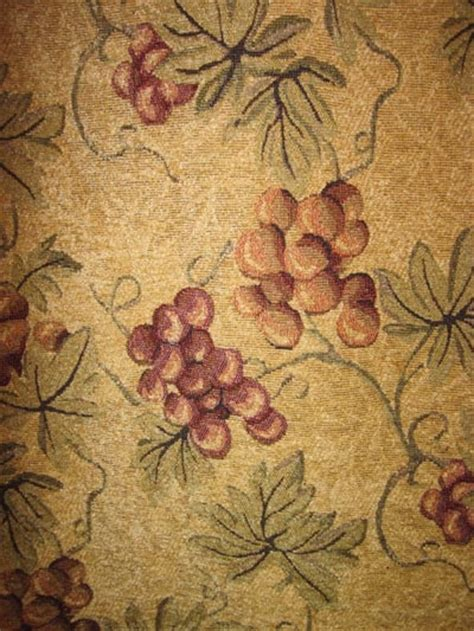 grape print kitchen curtains 17 best images about kitchen fabric on vintage