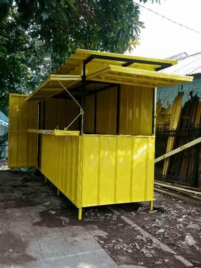 Container Gerobak Jualan Pembuatan Depok Beji Kukusan