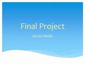 Final project social media