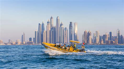 Marina Boat Tour Dubai by Yellow Boat Dubai Sightseeing Boat Tour
