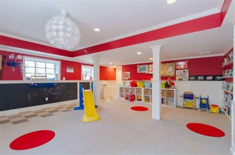 des salles de jeux au design tres colore bricobistro
