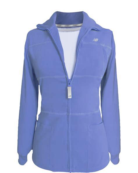 ceil blue fleece scrub jacket silver jackets jackets