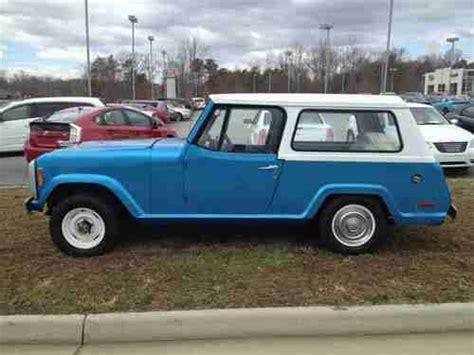 1973 jeep commando purchase used 1973 jeep commando hard top in danville