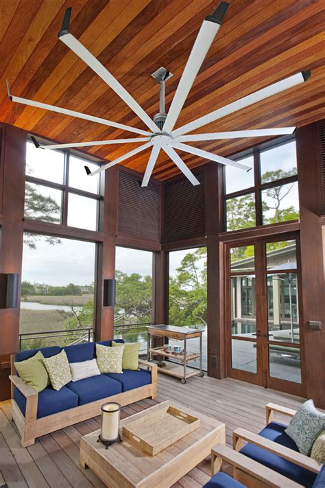 tropical colors for home interior farmhouse ceiling fan sunroom contemporary with vaulted
