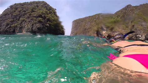 Phi Phi Island Snorkeling Youtube