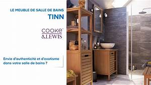 meuble de salle de bains tinn cooke lewis 667048 With porcher meuble salle de bain