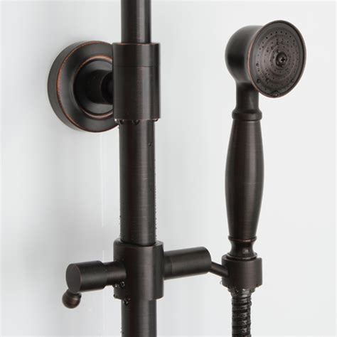 delta shower systems rubbed bronze rubbed bronze shower set rubbed bronze k84 1