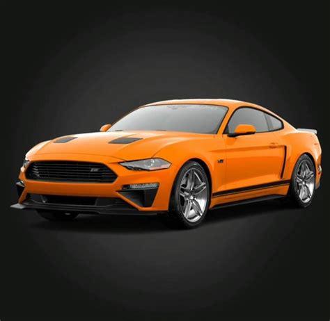 2018 Roush Mustang by 2018 Roush Mustang Lmr