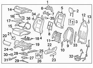 Cadillac Cts Power Seat Wiring Harness  Sedan  Recaro Seat