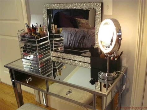Bedroom Makeup Vanity With Lights by Furniture 40 Pictures Of Bedroom Makeup Vanity With