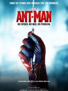 ANT MAN Poster #11 Spider-Man by Cag3dRav3n on DeviantArt