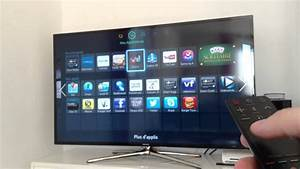 Pr U00e9sentation De Ma Tv Samsung 55 U0026 39  Smart Tv  Led Et 3d