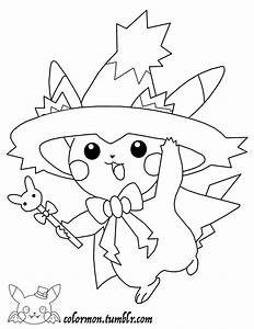 Look at how cute pikachu is all dressed up for Halloween ...