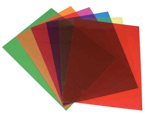 Maxiaids  Tinted Plastic Reading Sheets, Set Of 5