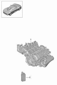 Porsche 918 Spyder Replacement Engine
