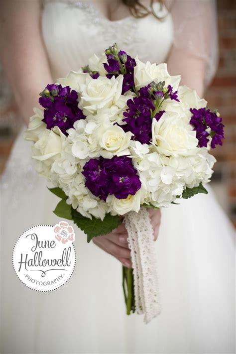 rose hydrangea bouquet dills summer romance plum