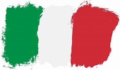 Flag Italy Clipart Italian Italia Border Transparent