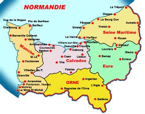 Carte Region Normandie by Pin Normandie On